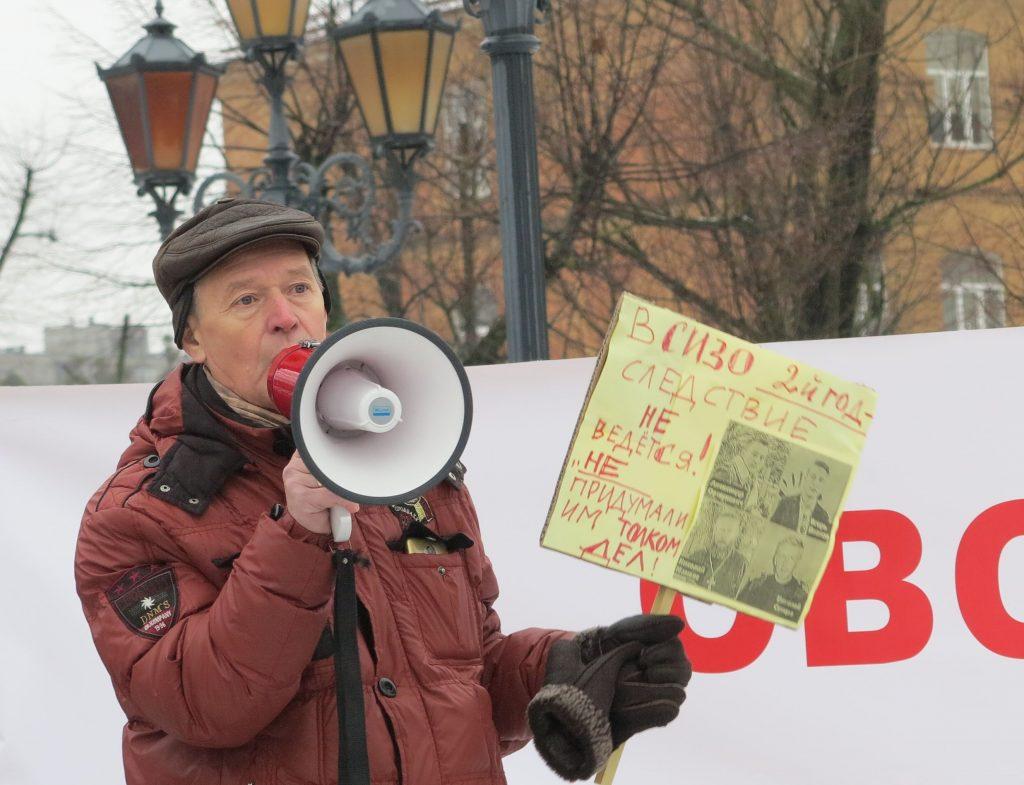 -1024x785 «Хотим, как во Франции!» В Калининграде требовали освободить Игоря Рудникова и всех политзаключённых